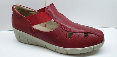laura azaña modelo la17118 color roja